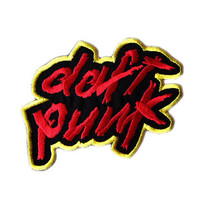 Daft Punk  Iron On Patch by EmbroideryDesignsUSA on Etsy