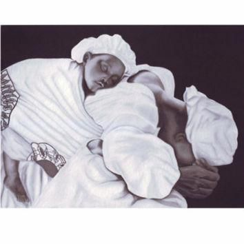 Mother and Child Anthony Jordan Fine Art Print Poster