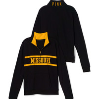 University of Missouri Boyfriend Half Zip