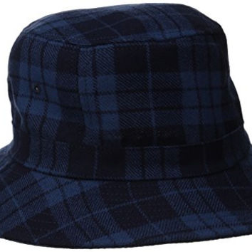 Pendleton Men's Bucket Hat, Pendleton Blue Plaid, Large
