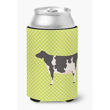 Holstein Cow Green Can or Bottle Hugger BB7648CC