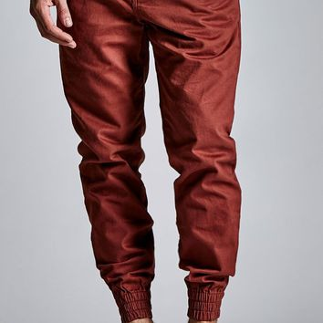 Vans Excerpt Brick Chino Jogger Pants - Mens Pants - Red