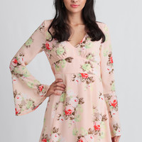 Just A Kiss Floral Dress
