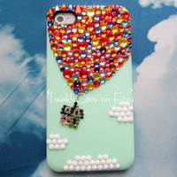 Original Balloon Crystal Bling Bling Phone Case by TwinkleCase