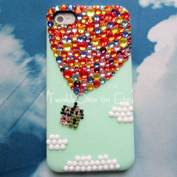 Original Balloon Crystal Bling Bling Phone Case
