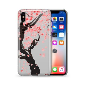 Cherry Blossom Tree - Clear TPU Case Cover Phone Case