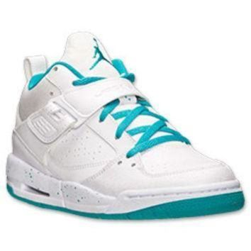 DCK7YE Girls' Grade School Jordan Flight 45 Basketball Shoes