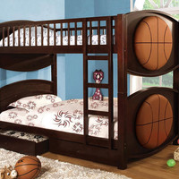 Basketball Twin over Twin Bunk Beds