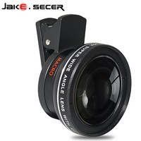 Professional 0.45x wide angle with super 10x macro mobile phone lenses for samsung j5 iphone 7 8 plus universal HD camera lens