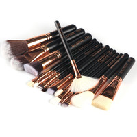 15 Pieces/Set Good Quality Makeup Brushes Professional Foundation Powder Blush Cosmetics Make Up Brush Tools Brand MAANGE #92143