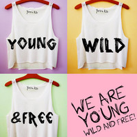 Young Wild and Free Best Friends Tank Top | Yotta Kilo