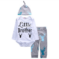 3PCS Little Brother Baby Set