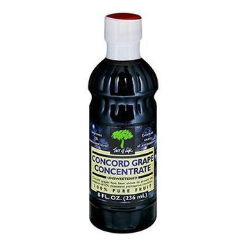 Tree Of Life: Concord Concentrated Grape Juice Unsweetened, 8 Oz
