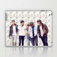 Floral 1D Laptop & iPad Skin by Valerie Hoffmann || One Direction