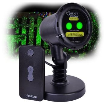 BlissLights Outdoor-Indoor Spright Firefly Motion Green Laser Light - Transform your Yard into an Oasis of Lights!