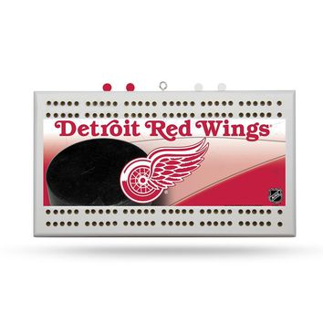 Detroit Red Wings NHL Cribbage Board