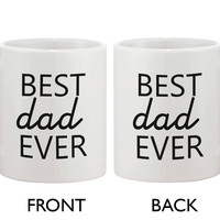 Father's Day Mug for Dad - Best Dad Ever. Father's Day Mug Gift for Father