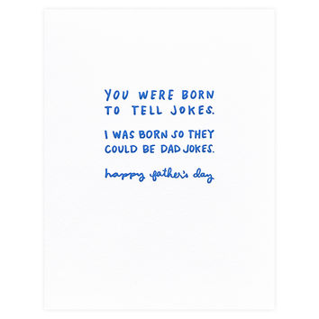 Dad Jokes Father's Day Card