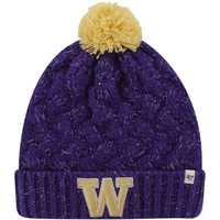 '47 Brand Washington Huskies Womens Purple Fiona Cuff Knit Beanie