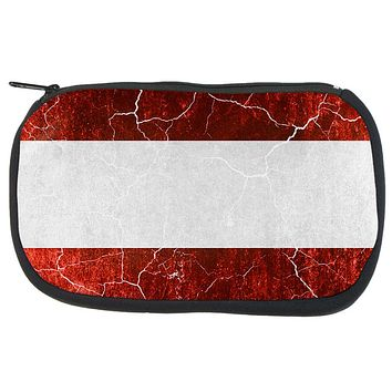 Austrian Flag Distressed Grunge Travel Bag