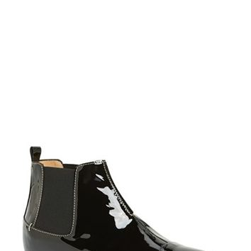 Women's Aquatalia by Marvin K. 'Chime' Weatherproof Patent Leather Chelsea Boot,