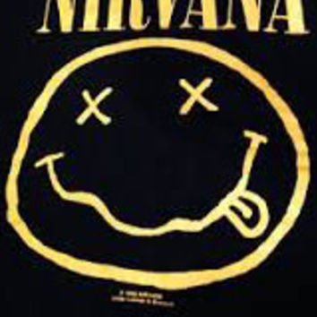 Nirvana Iron On Patch