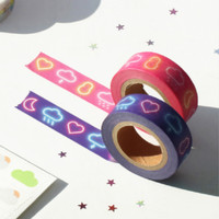 Cloud story 0.59 X 11yd single deco masking tape