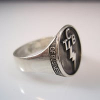 Elvis Presley Tcb Ring Solid Sterling Silver 925 All Size Available