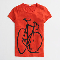 Factory big bike graphic tee