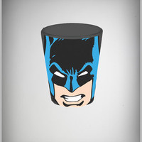 Batman Face Shotglass in Fun & Games Drinking Glassware Shooters