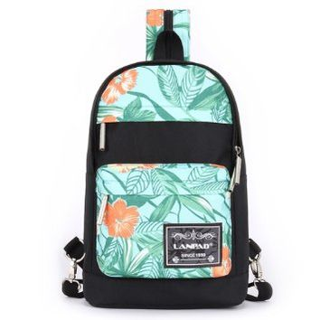 Vere Gloria Unisex Fashion Casual Korean Style School Travel Picnic Backpacks, for Middle High School College Students Teenager Girls Boys (Tree leaf)