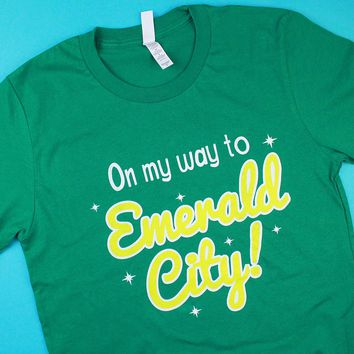 On My Way To Emerald City T Shirt