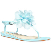 Blue by Betsey Johnson Iris Thong Evening Sandals