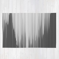Grays Striped Rug by duckyb