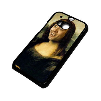 NICHOLAS CAGE MONALISA 2 HTC One M8 Case Cover