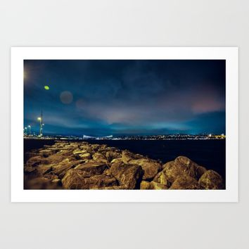 Istanbul Art Print by Mixed Imagery
