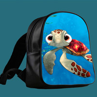 Squirt From Finding Nemo for Backpack / Custom Bag / School Bag / Children Bag / Custom School Bag *