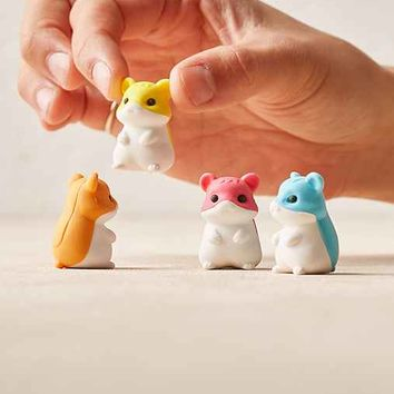 Hamster Puzzle Erasers Set