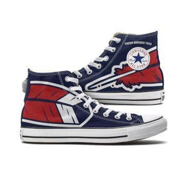 DCKL9 Cleveland Feather Converse (Blue High Tops)