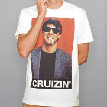 Paper Root Clothing — The Cruizin Tee - White