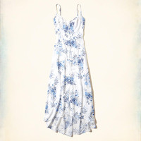 Girls Button-Front Maxi Dress | Girls Dresses & Rompers | HollisterCo.com
