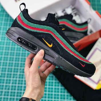 Sean Wotherspoon x Nike Air Max 1 / 97 VF SW Hybrid Gucci Black Sport  Running Shoes - Best Online Sale