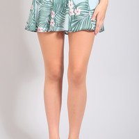 show me your mumu: skater stretch skirt - hanalei dream