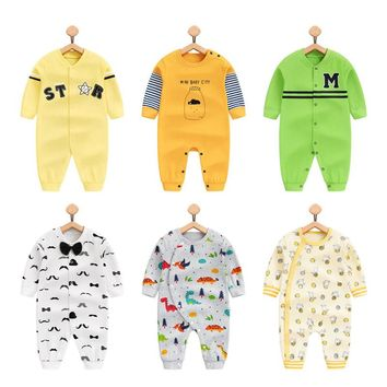 Newborn Baby Clothes Cotton baby rompers fashion Boys Pajamas Clothes kids Jumpsuit Baby Costumes Brands Baby Clothes