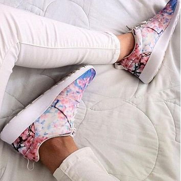 NIKE Roshe Run Fashion Woman Running Sneakers Sport Shoes
