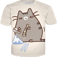 Blowed pusheen
