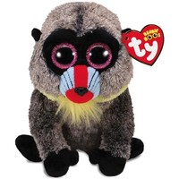 Ty Beanie Boos Wasabi Baboon Stuffed Animal, 6""