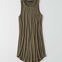 AEO Soft & Sexy Easy Shift Dress , Olive