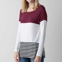 Double Zero Striped Top