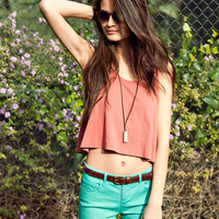 Crop Swing Tank | FOREVER21